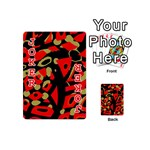 Red artistic design Playing Cards 54 (Mini)  Front - Joker2