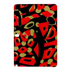 Red Artistic Design Samsung Galaxy Tab Pro 12 2 Hardshell Case