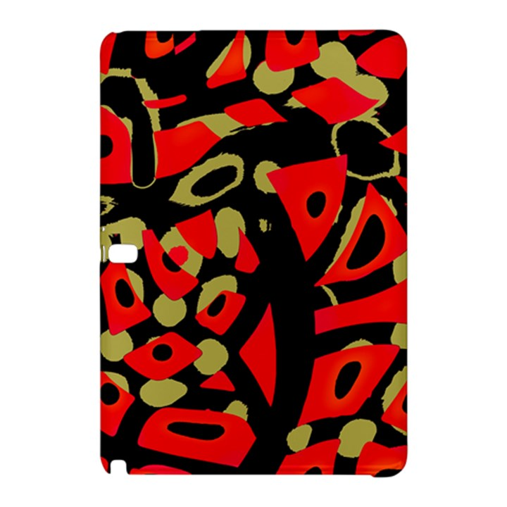 Red artistic design Samsung Galaxy Tab Pro 12.2 Hardshell Case