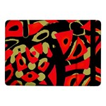 Red artistic design Samsung Galaxy Tab Pro 10.1  Flip Case Front