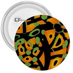 Abstract animal print 3  Buttons Front