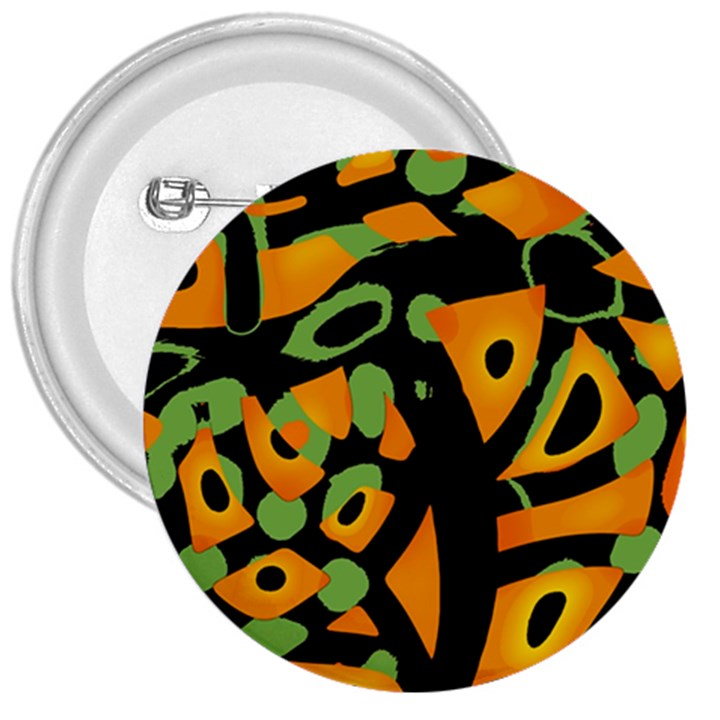 Abstract animal print 3  Buttons