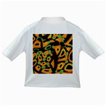 Abstract animal print Infant/Toddler T-Shirts Back