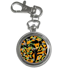 Abstract Animal Print Key Chain Watches by Valentinaart