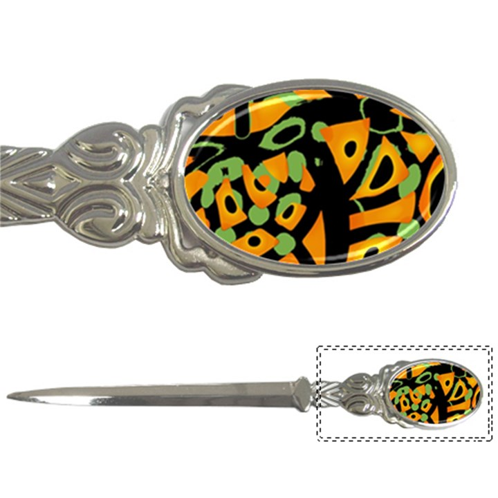 Abstract animal print Letter Openers