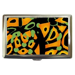 Abstract Animal Print Cigarette Money Cases