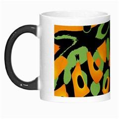 Abstract animal print Morph Mugs