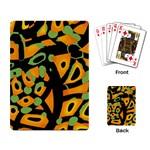 Abstract animal print Playing Card Back