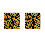 Abstract animal print Cufflinks (Square) Front