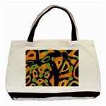 Abstract animal print Basic Tote Bag (Two Sides) Front