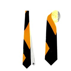 Abstract Animal Print Neckties (one Side)