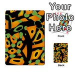 Abstract animal print Multi-purpose Cards (Rectangle)  Frontback