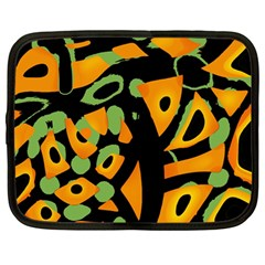 Abstract Animal Print Netbook Case (large)