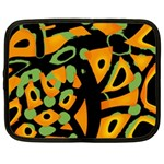 Abstract animal print Netbook Case (Large) Front
