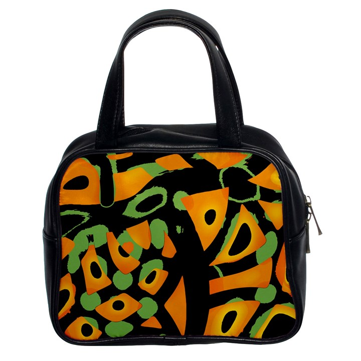 Abstract animal print Classic Handbags (2 Sides)