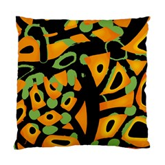 Abstract Animal Print Standard Cushion Case (one Side)