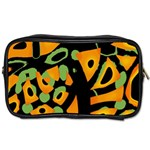 Abstract animal print Toiletries Bags 2-Side Front