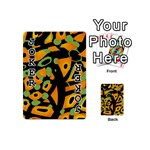Abstract animal print Playing Cards 54 (Mini)  Front - Joker1