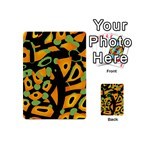 Abstract animal print Playing Cards 54 (Mini)  Back