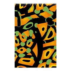 Abstract Animal Print Shower Curtain 48  X 72  (small)