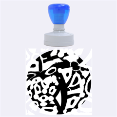 Abstract Animal Print Rubber Round Stamps (large)