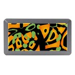 Abstract animal print Memory Card Reader (Mini) Front