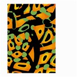 Abstract animal print Small Garden Flag (Two Sides) Front