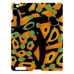 Abstract animal print Apple iPad 3/4 Hardshell Case