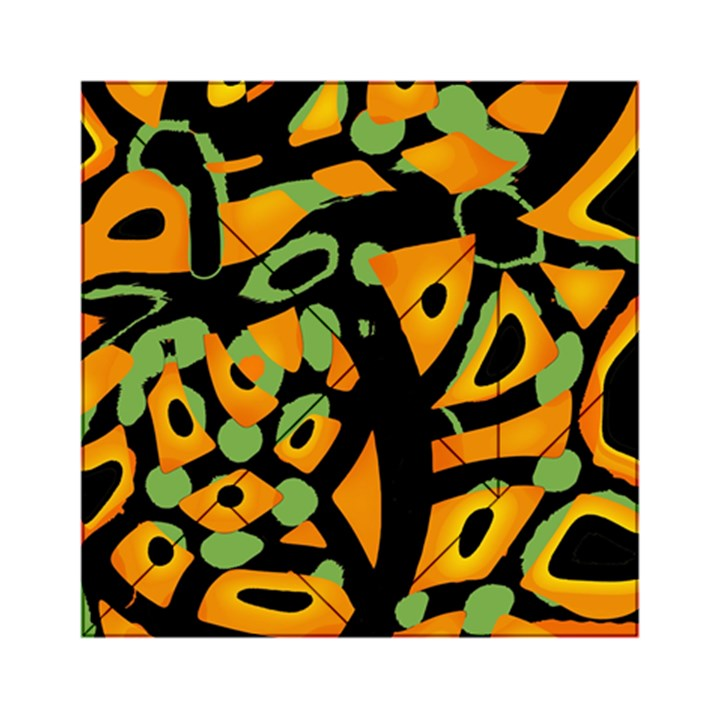 Abstract animal print Acrylic Tangram Puzzle (6  x 6 )