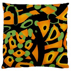 Abstract Animal Print Large Cushion Case (two Sides)