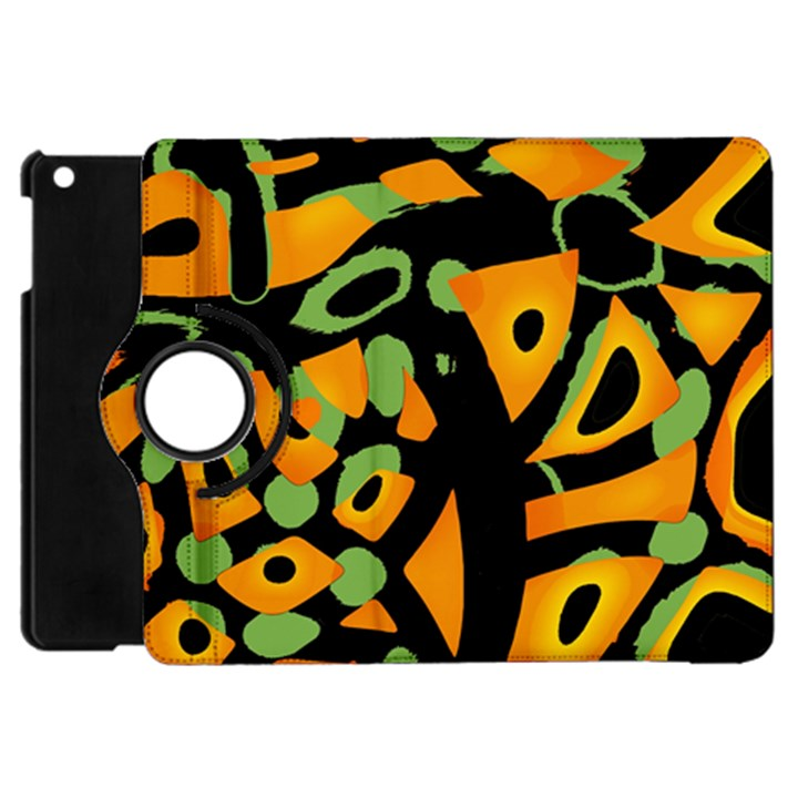 Abstract animal print Apple iPad Mini Flip 360 Case