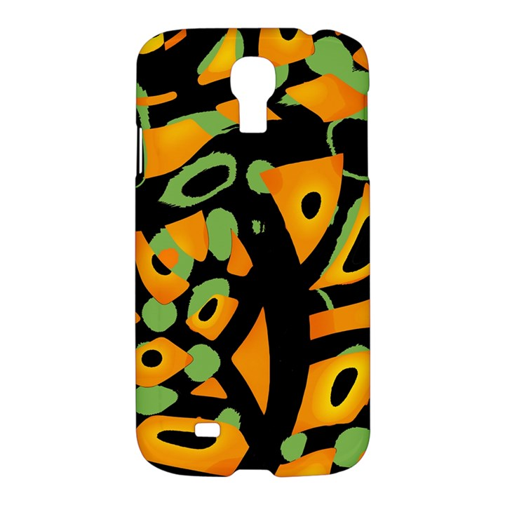 Abstract animal print Samsung Galaxy S4 I9500/I9505 Hardshell Case