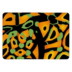 Abstract Animal Print Samsung Galaxy Tab 8 9  P7300 Flip Case