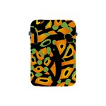 Abstract animal print Apple iPad Mini Protective Soft Cases Front