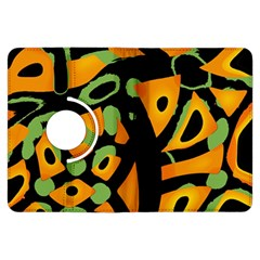 Abstract Animal Print Kindle Fire Hdx Flip 360 Case
