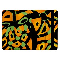 Abstract Animal Print Samsung Galaxy Tab Pro 12 2  Flip Case