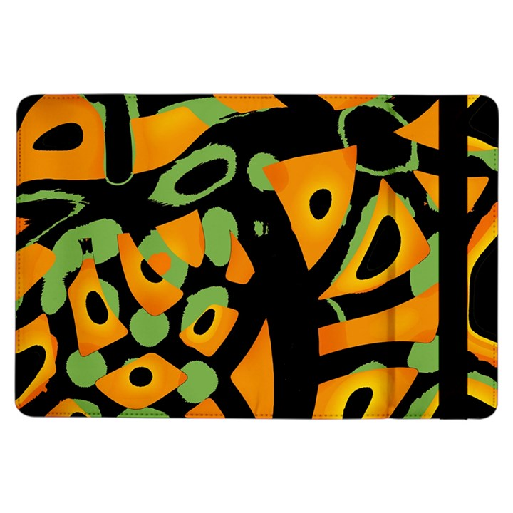 Abstract animal print iPad Air Flip