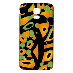 Abstract Animal Print Samsung Galaxy S5 Back Case (white)