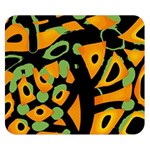 Abstract animal print Double Sided Flano Blanket (Small)  50 x40 Blanket Front