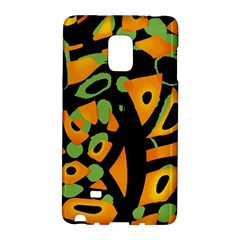 Abstract Animal Print Galaxy Note Edge by Valentinaart