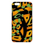 Abstract animal print iPhone 6 Plus/6S Plus TPU Case Front