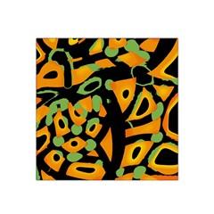 Abstract animal print Satin Bandana Scarf