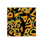 Abstract animal print Satin Bandana Scarf Front