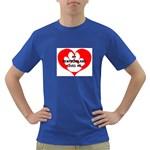 My Newfie Loves Me Dark T-Shirt