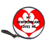 My Newfie Loves Me Classic 20-CD Wallets