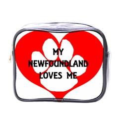 My Newfie Loves Me Mini Toiletries Bags