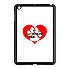 My Newfie Loves Me Apple iPad Mini Case (Black)