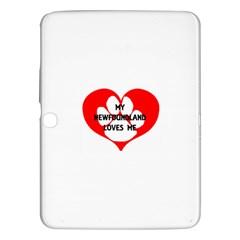 My Newfie Loves Me Samsung Galaxy Tab 3 (10.1 ) P5200 Hardshell Case