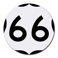 U S  Route 66 Round Mousepads