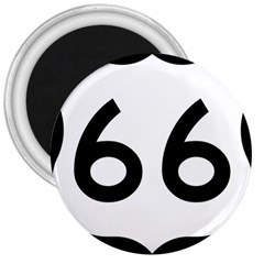 U S  Route 66 3  Magnets